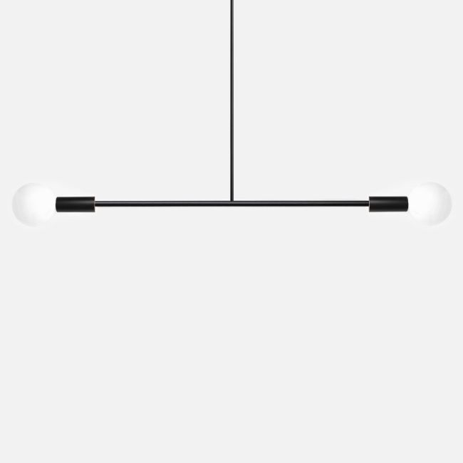 Barbell Pendant by Andrew Neyer | BL-BLK