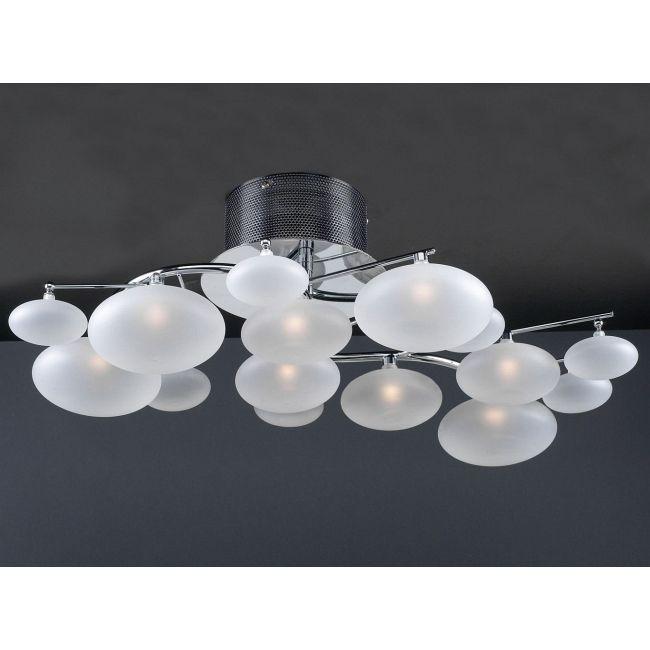 Comolus Ceiling Flush Light  by PLC Lighting