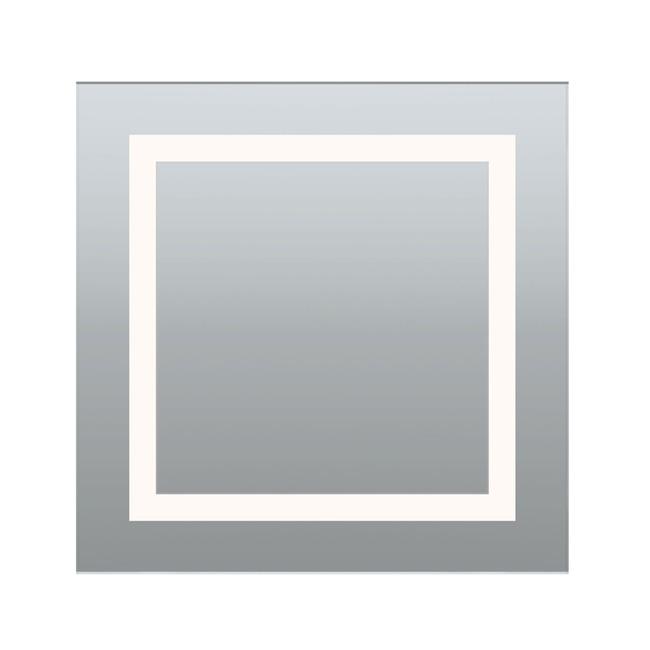 Plaza Small Non-Dim Mirror  by PureEdge Lighting
