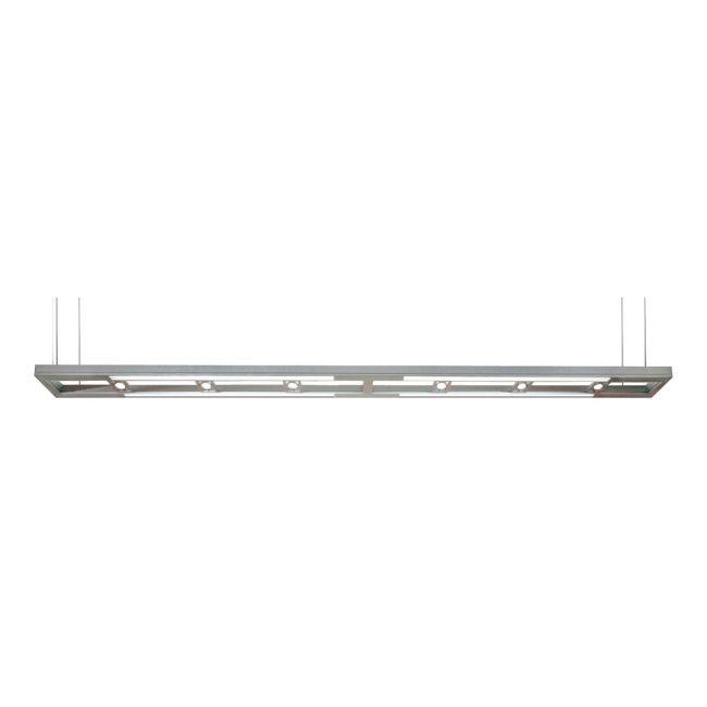 Lyra 60/120 Inch Halogen Linear Suspension by PureEdge Lighting | LYRA-120-SA