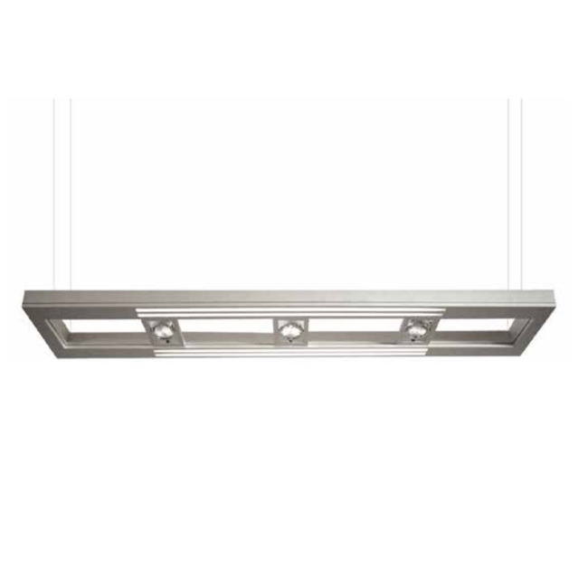 Lyra 26/48/96 Inch Halogen Linear Suspension by PureEdge Lighting | LYRA-48-SA