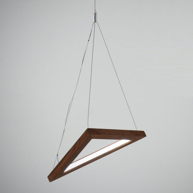 Triangle Pendant  by hollis+morris