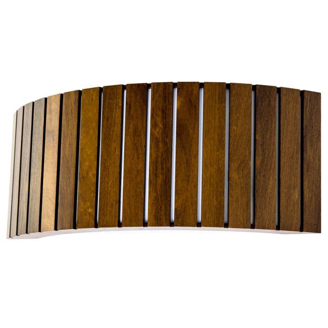 Slatted Horizontal Wall Sconce  by Accord Iluminacao