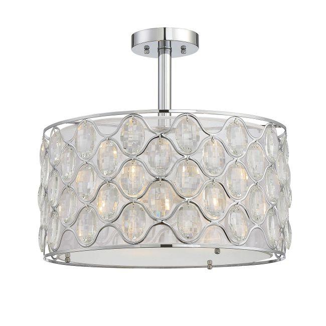 Opus Ceiling Semi Flush Light  by Savoy House