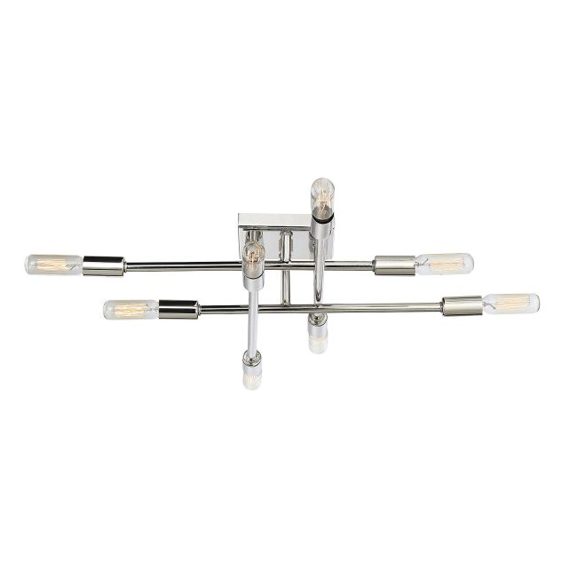 Lyrique Ceiling Semi Flush Light  by Savoy House