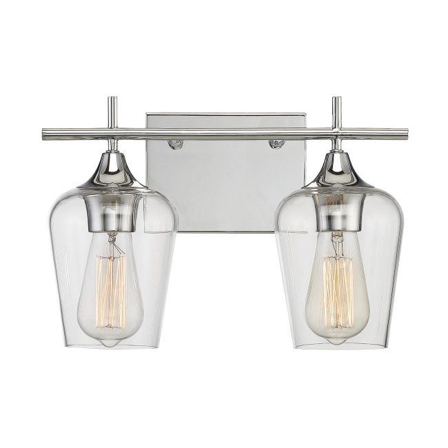 Octave Bathroom Vanity Light by Savoy House  by Savoy House