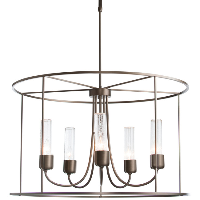 Portico Drum Outdoor Pendant  by Hubbardton Forge