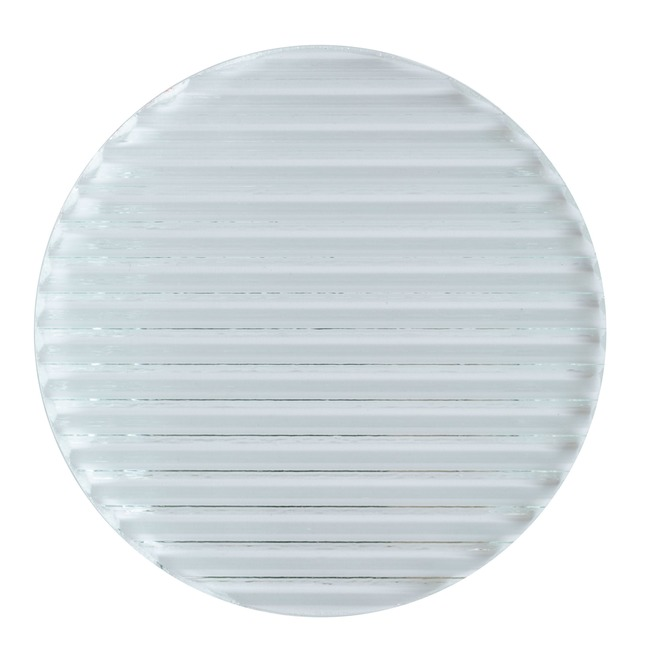 2 Inch Round Glass Optical Lens  by PureEdge Lighting