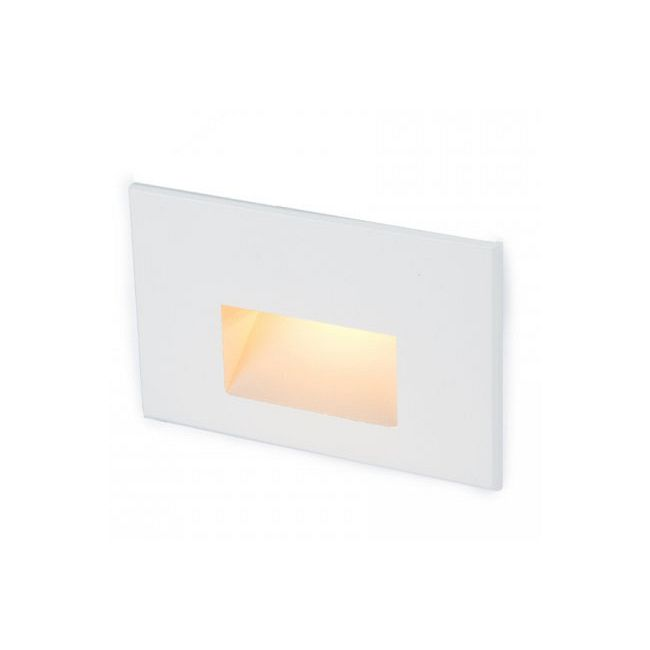 12V Horizontal Scoop Outdoor Wall / Step Light  by WAC Lighting