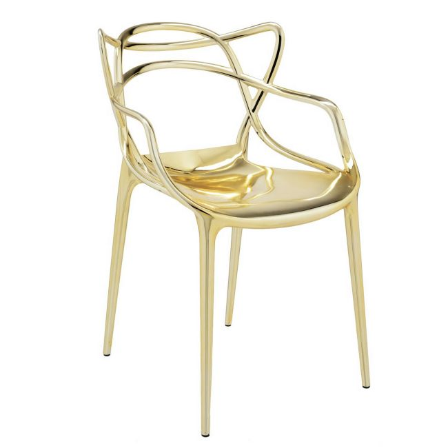 Masters Metallic Chair - 2 Pack  by Kartell