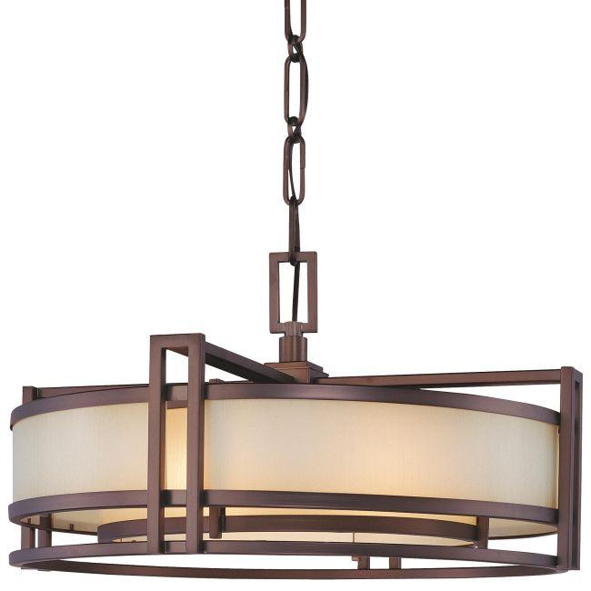 Underscore Drum Pendant  by Metropolitan Lighting