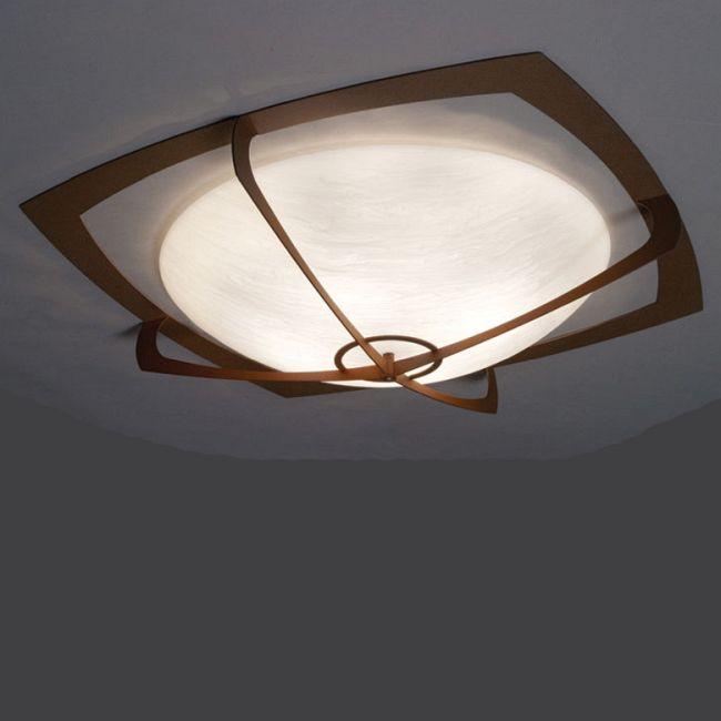 Synergy 0490 Damp Ceiling Flush Light  by UltraLights