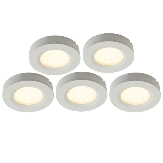 RDP18 2-In-1 Puck Light 5-Light Kit  by DALS Lighting