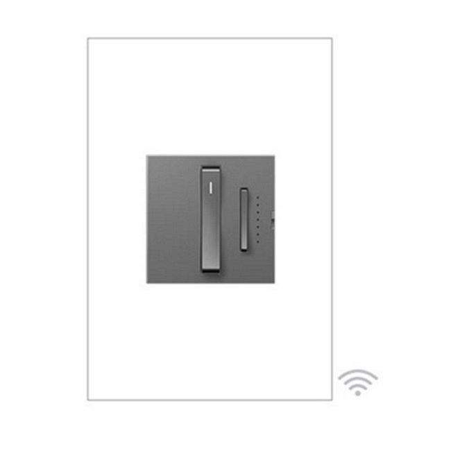 Adorne Whisper Wi-Fi Ready Master Dimmer w/ No Neutral  by Legrand Adorne