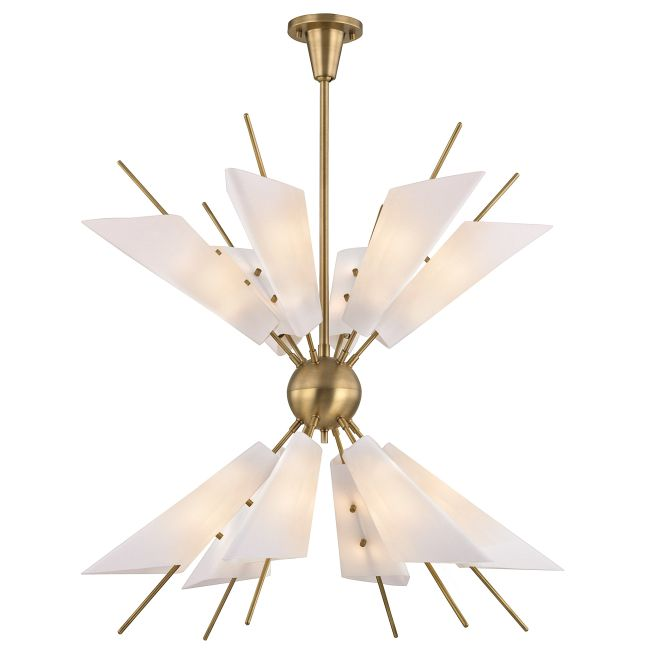Cooper Two Tier Chandelier  by Hudson Valley Lighting