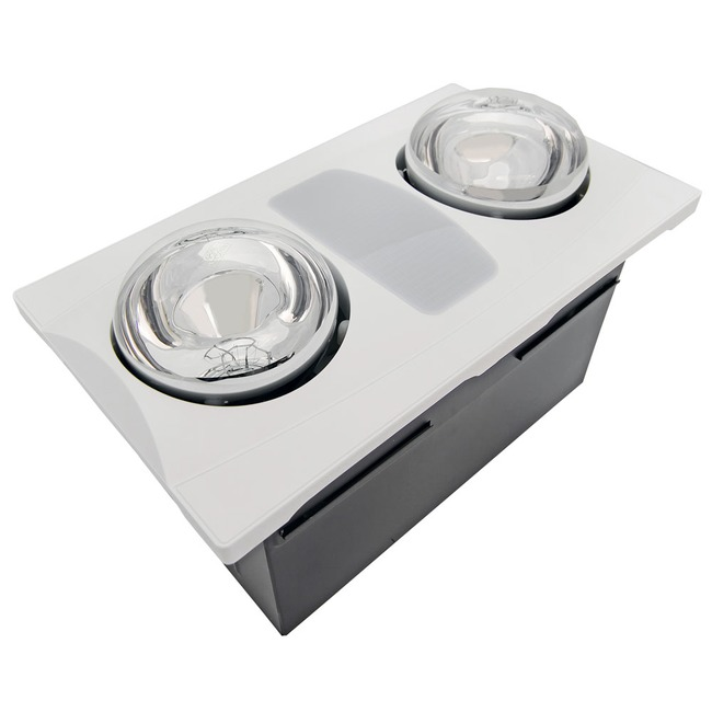 A515 Exhaust Fan with Heater and Light  by Aero Pure