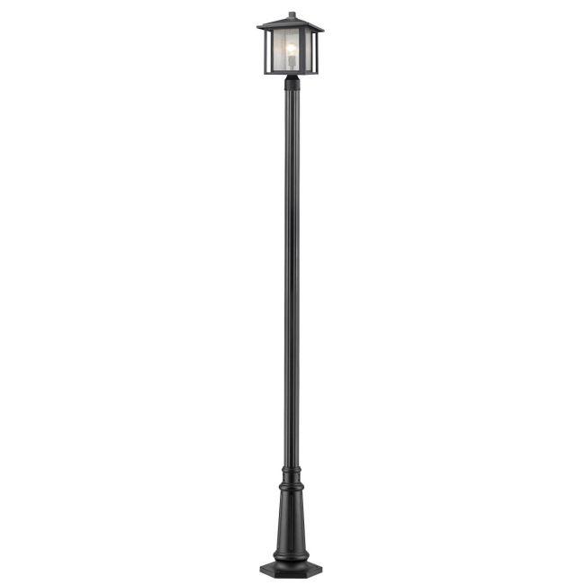 Aspen 557 Outdoor Pole Light  by Z-Lite