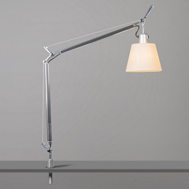 Tolomeo Shade Desk Lamp with In Set Pivot  by Artemide