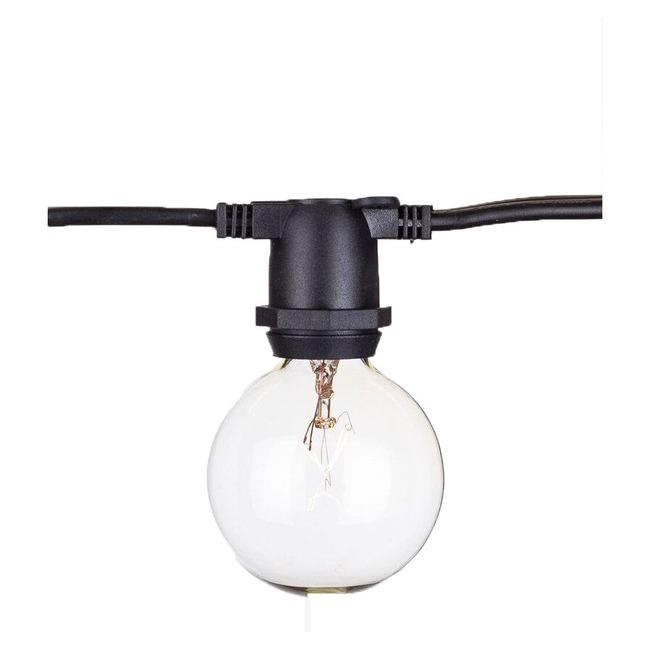 Savannah Commercial 40 Light String Light Kit  by Aspen Brands