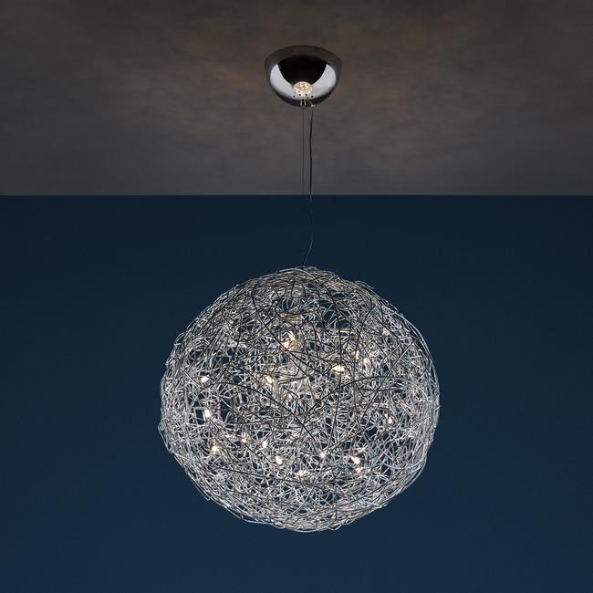 Fil De Fer LED Pendant  by Catellani & Smith