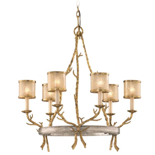 Parc Royale Chandelier  by Corbett Lighting