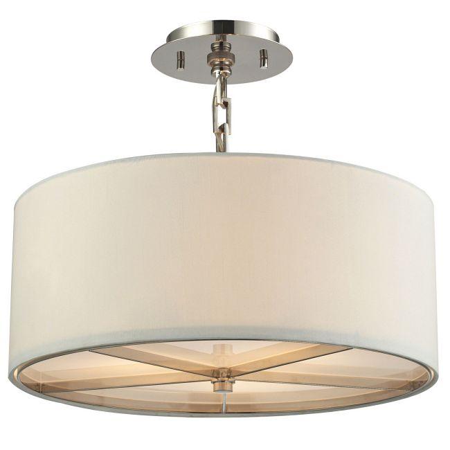 Selma Semi Flush Ceiling Light  by Elk Lighting
