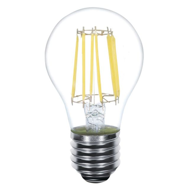 A19 Med Base Filament 6W 120V 2700K 82CRI UL  by Kodak LED Lighting