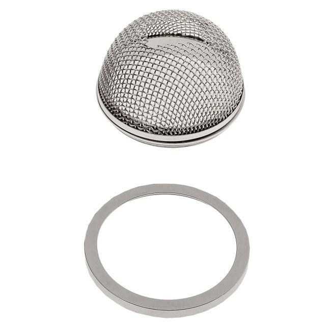 S7 Round Mesh Shade Accessory by PureEdge Lighting | s7-pn