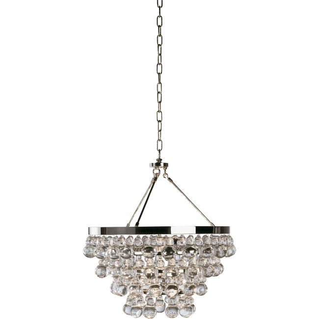 Bling Convertible Chandelier  by Robert Abbey