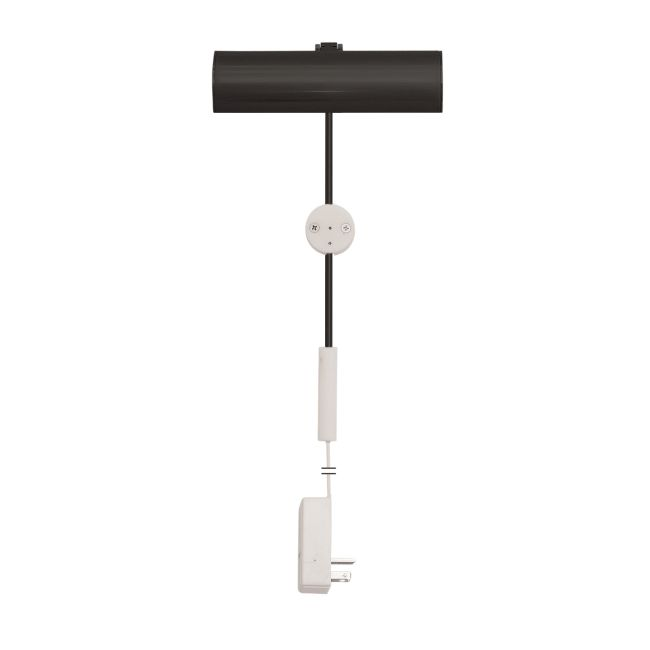 Cody Plug-In LED Picture Light by PureEdge Lighting | CPL-6-BK-P