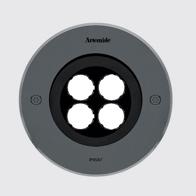Ego 150 Spot Outdoor Round Recessed Ground Light  by Artemide