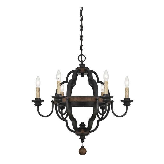 Kelsey 1890 Chandelier by Savoy House  by Savoy House