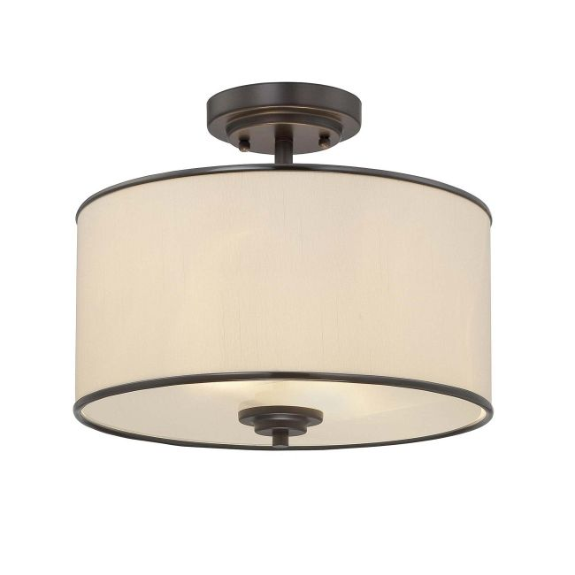 Grove Ceiling Semi Flush Light  by Savoy House