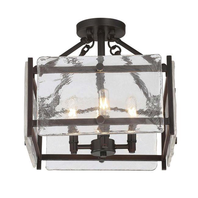Glenwood Ceiling Semi Flush Light  by Savoy House