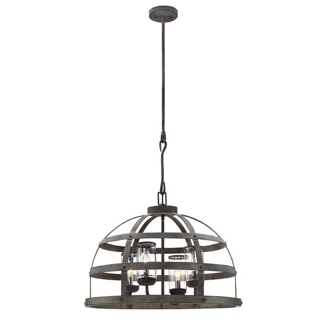 Aiken Indoor / Outdoor Pendant by Savoy House  by Savoy House
