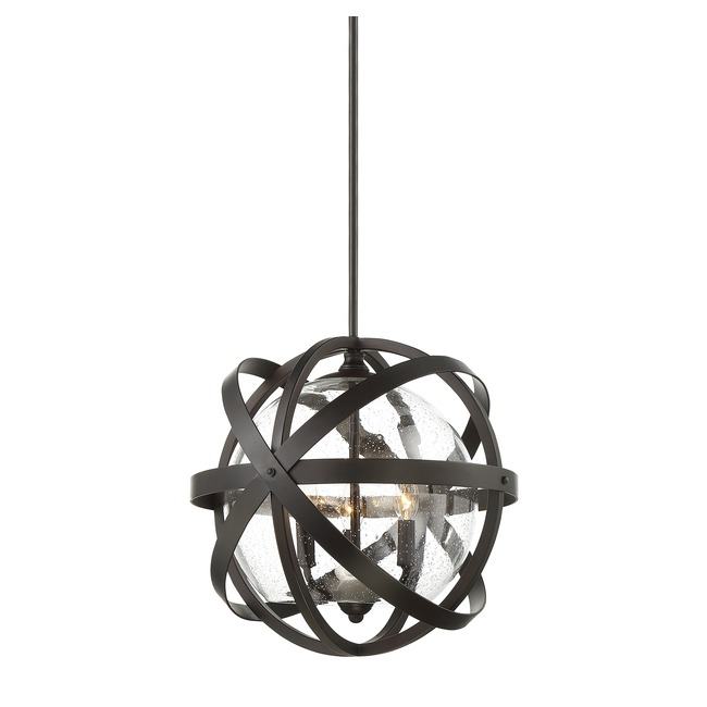 Bassett Outdoor Pendant by Savoy House  by Savoy House