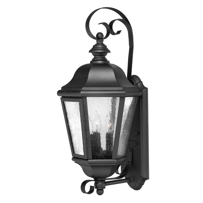 Edgewater Outdoor Wall Lantern by Hinkley Lighting | 1670BK