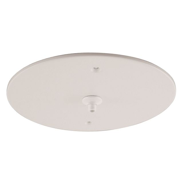 Fast Jack 7 Inch Round Recessed Canopy by PureEdge Lighting | fjp-rc-wh