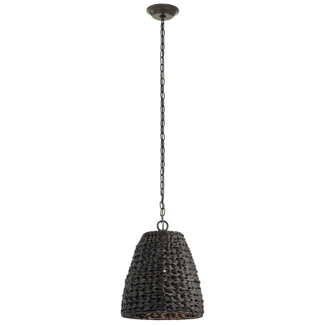 Palisades Outdoor Bell Pendant  by Kichler