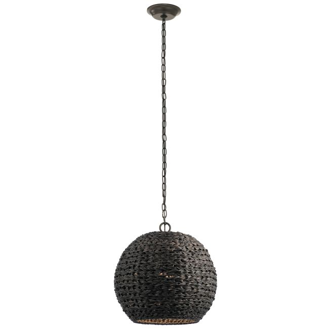 Palisades Outdoor Globe Pendant  by Kichler