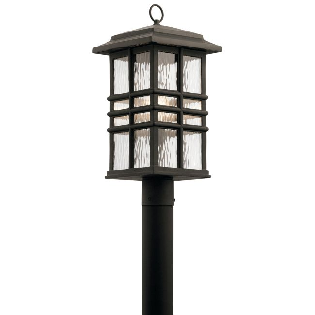Beacon Square Post Mount Light  by Kichler