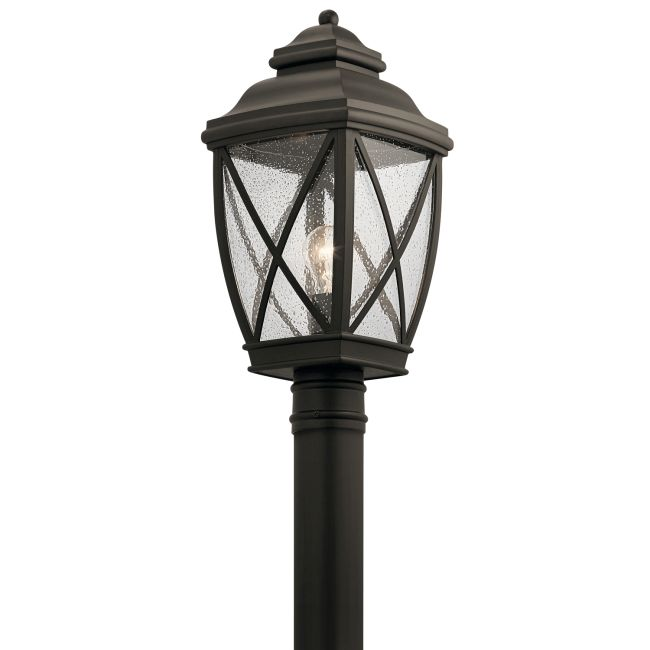 Tangier Outdoor Post Mount  by Kichler