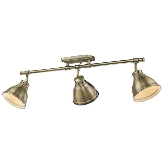 Duncan Semi Flush Track Light  by Golden Lighting