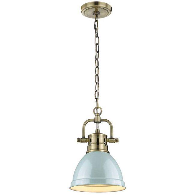 Duncan Mini Chain Pendant  by Golden Lighting