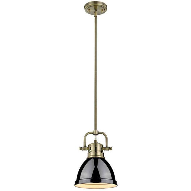 Duncan Mini Rod Pendant  by Golden Lighting