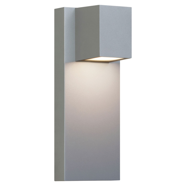 Quadrate outdoor wall light by lbl lighting od1015grpledwdw