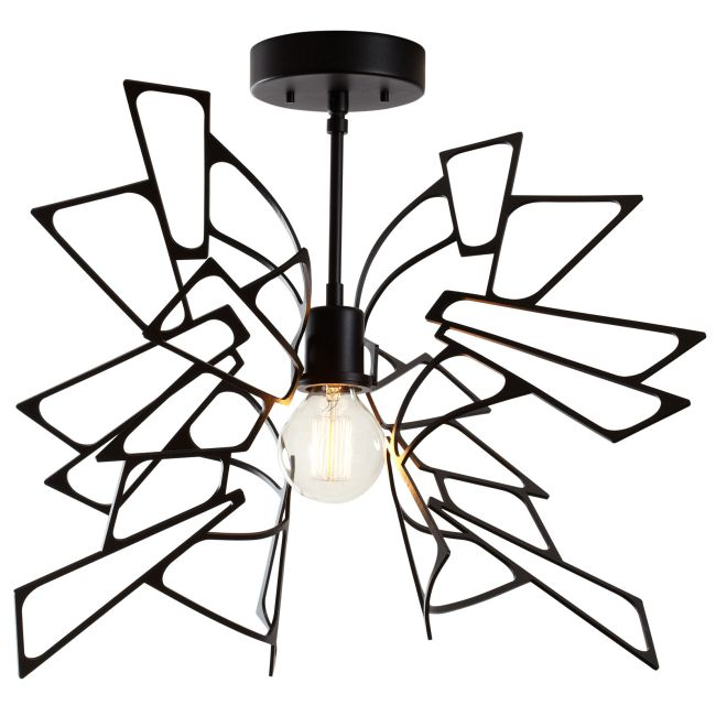 Monarch Semi Flush Ceiling Light  by Vermont Modern