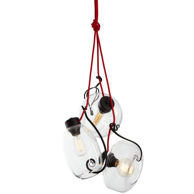 Hook, Vine and Sinker Pendant  by Vermont Modern