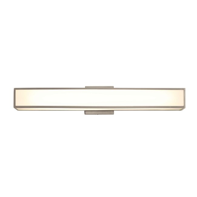 Garbo Non Dimmable Bath Bar by PureEdge Lighting | GARBO-W-25-F1-SN