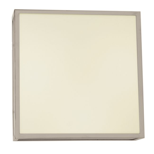 Garbo Square Ceiling / Wall Light  by PureEdge Lighting | garbo-c-sq-12-f1-sn